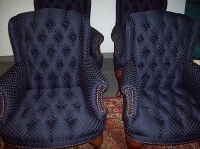 Classic Custom Upholstery Showcase Office Diamond Tuck Office Chairs